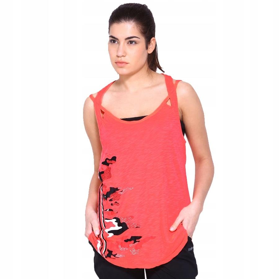 Koszulka Reebok Dance Strp Tank Z83435 M różowy