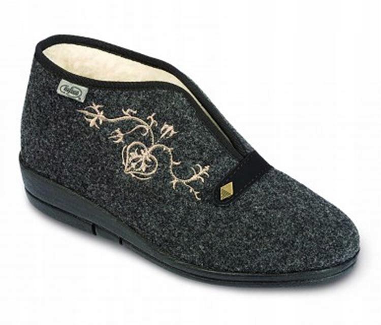 Ciepłe pantofle kapcie damskie Befado 031/28 R 38