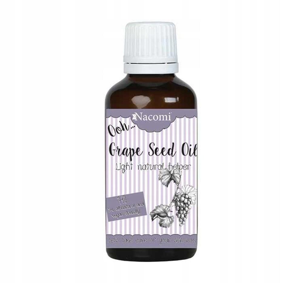 Nacomi Grape Seed Oil olej z pestek winogron 50ml