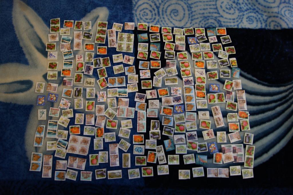 znaczki pocztowe- duży zestaw 1