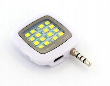 LAMPA BŁYSKOWA ZDJĘĆ SELFIE TELEFONU USB 16 LED