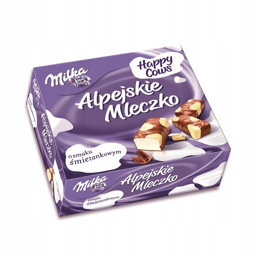 MILKA Alpejskie Mleczko Happy Cows 330g