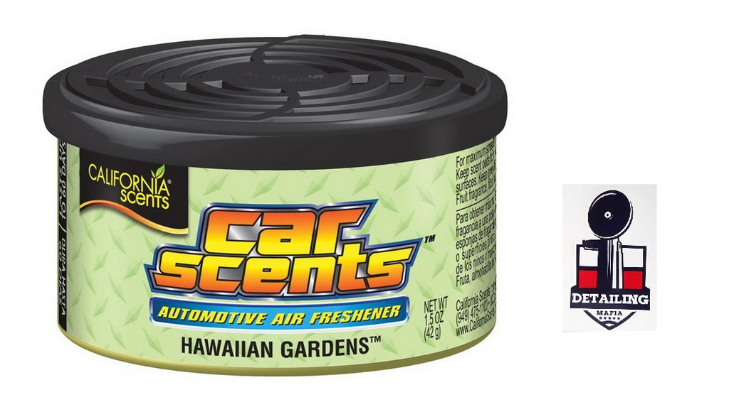 CALIFORNIA CAR SCENTS - HAWAIIAN GARDENS + GRATIS