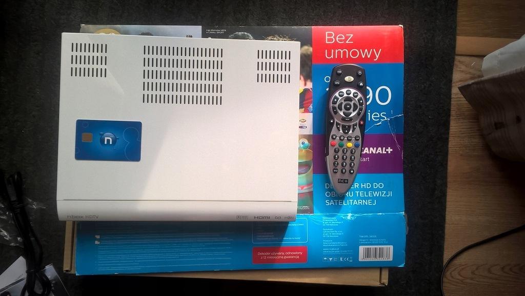 nBox 5800s BXZB DEKODER NC+ kabel HDMI 2m