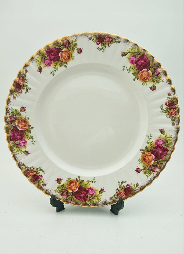 6 x Talerz Royal Albert Old Country Roses