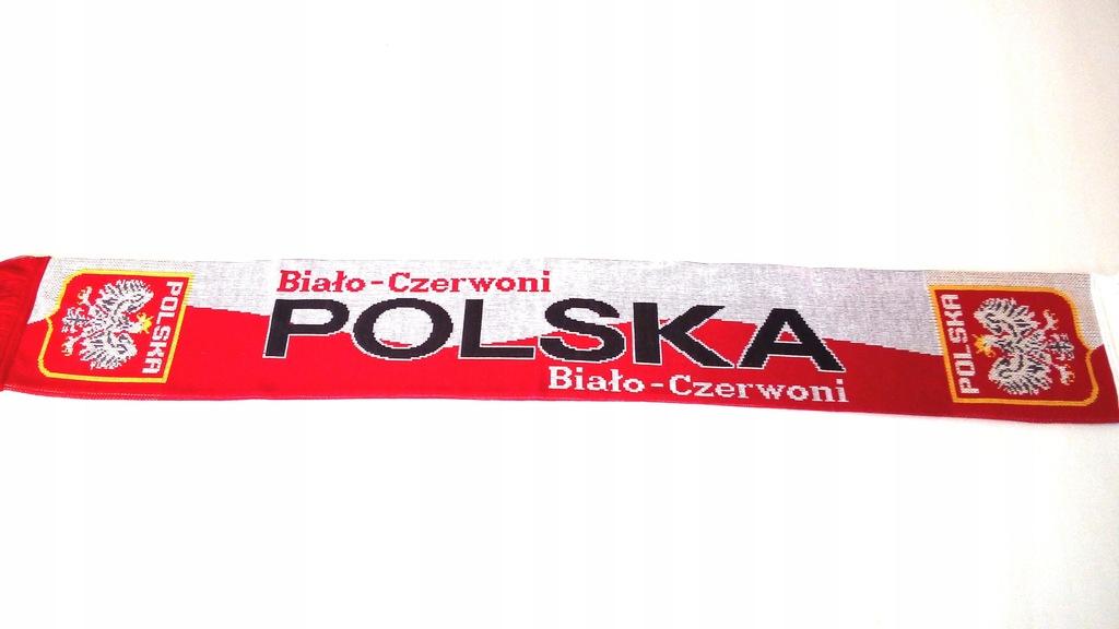 SZAL KIBICA -TYLKO POLSKA DZIANY DWUSTRONNY .