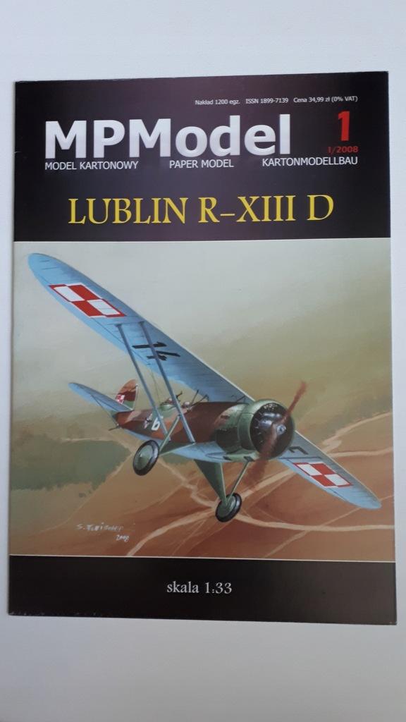 Lublin R-XIII D ,MPM,Skala 1:33