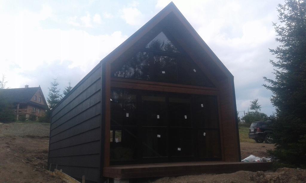 Dom z drewna domek domy drewniane
