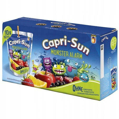 CapriSun Monster Alarm 10 szt.