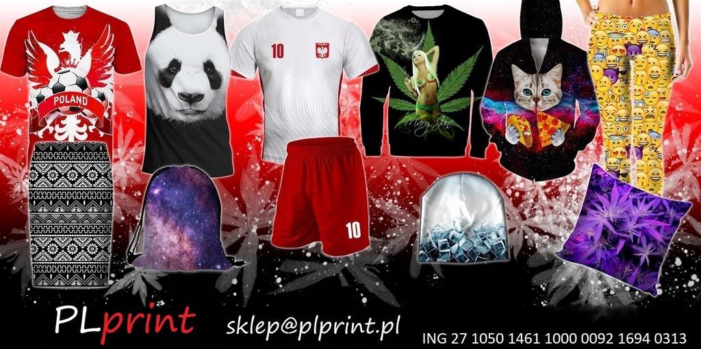 WOLNA POLSKA Męska Koszulka PIASKOWA Full Print 7638977297  ts4kC