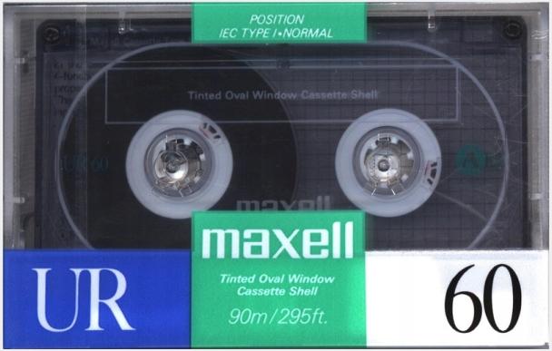Maxell UR 60 1998r. NOWA