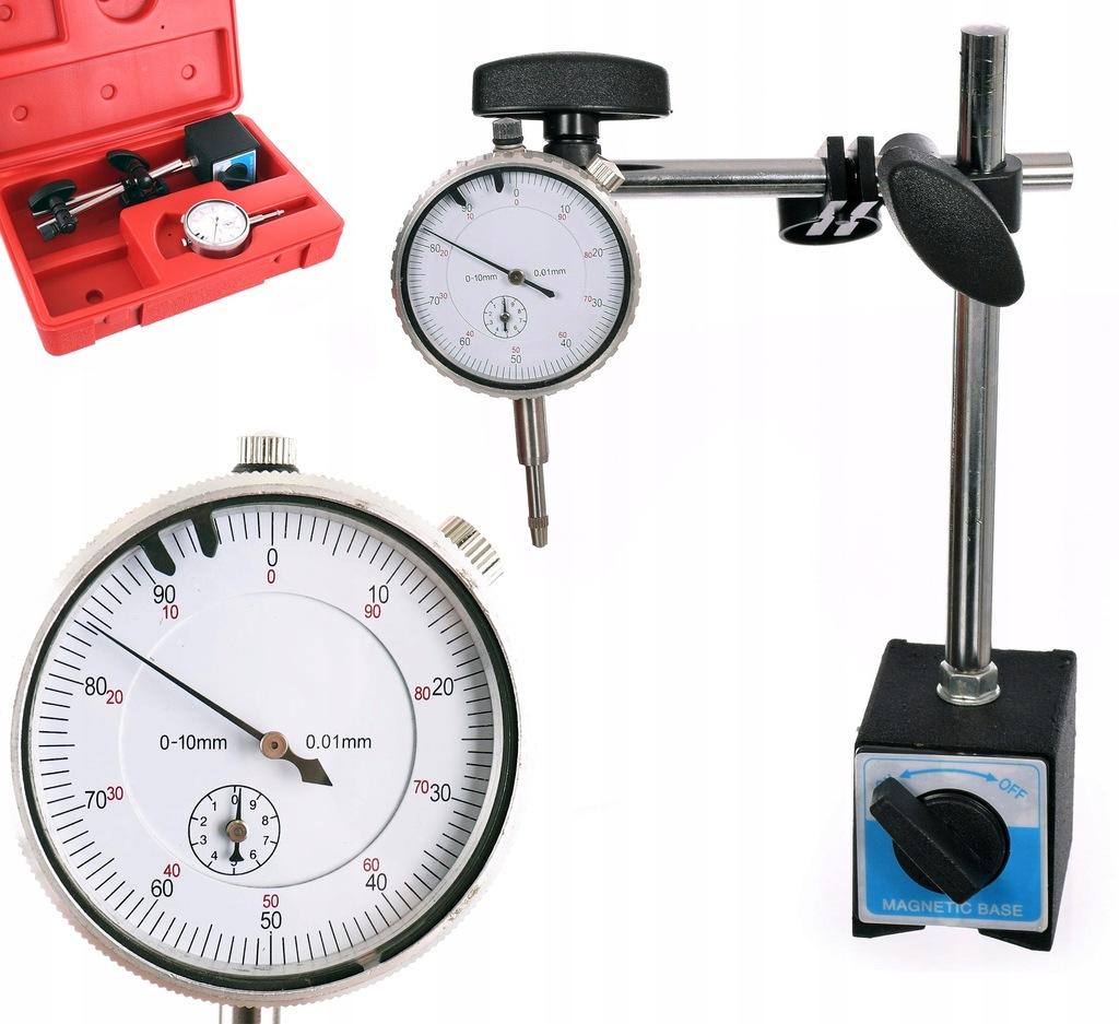 Czujnik zegarowy 0,01mm Statyw magnetyczny outlet
