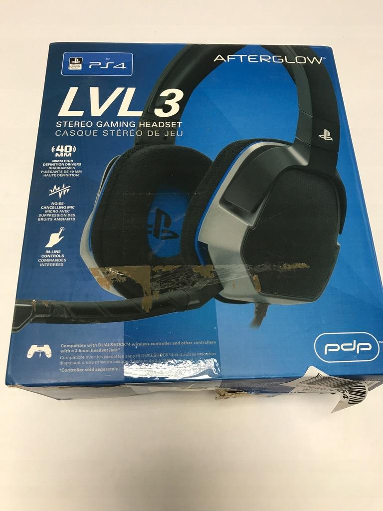 Słuchawki PS4 Afterglow LvL.3