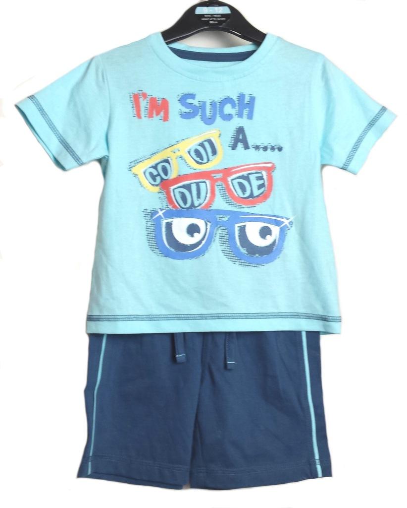 Komplet letni Cool Dude koszulka spodenki TU 80