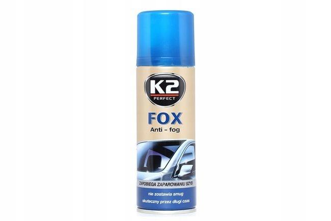 K2 FOX przeciw parowaniu szyb ANTI FOG spray 200ml