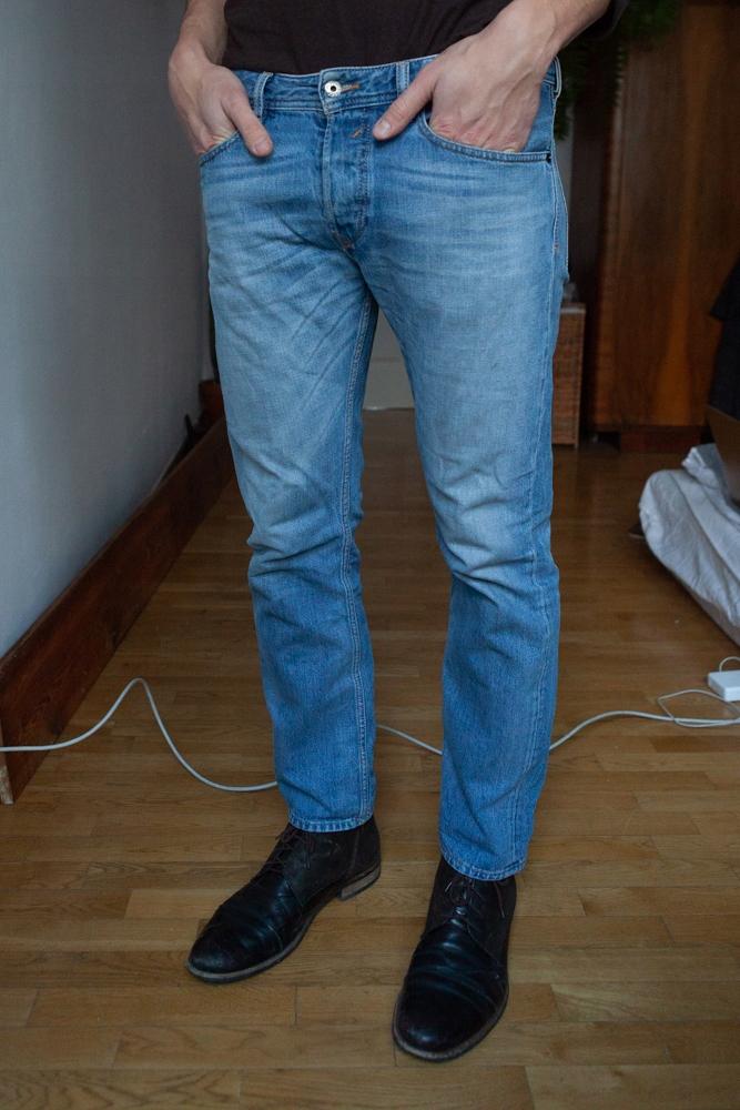 Spodnie męskie Diesel