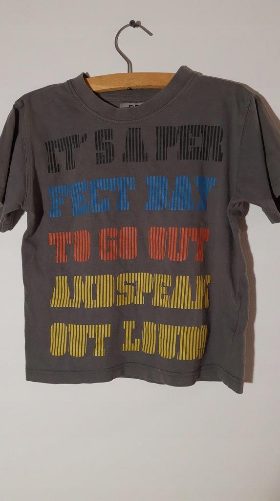 ENTRY t-shirt z napisem 110