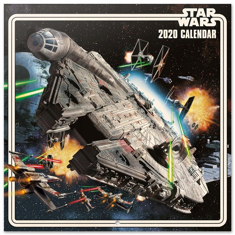 KALENDARZ 2020 - STAR WARS - Gwiezdne Wojny 30x30