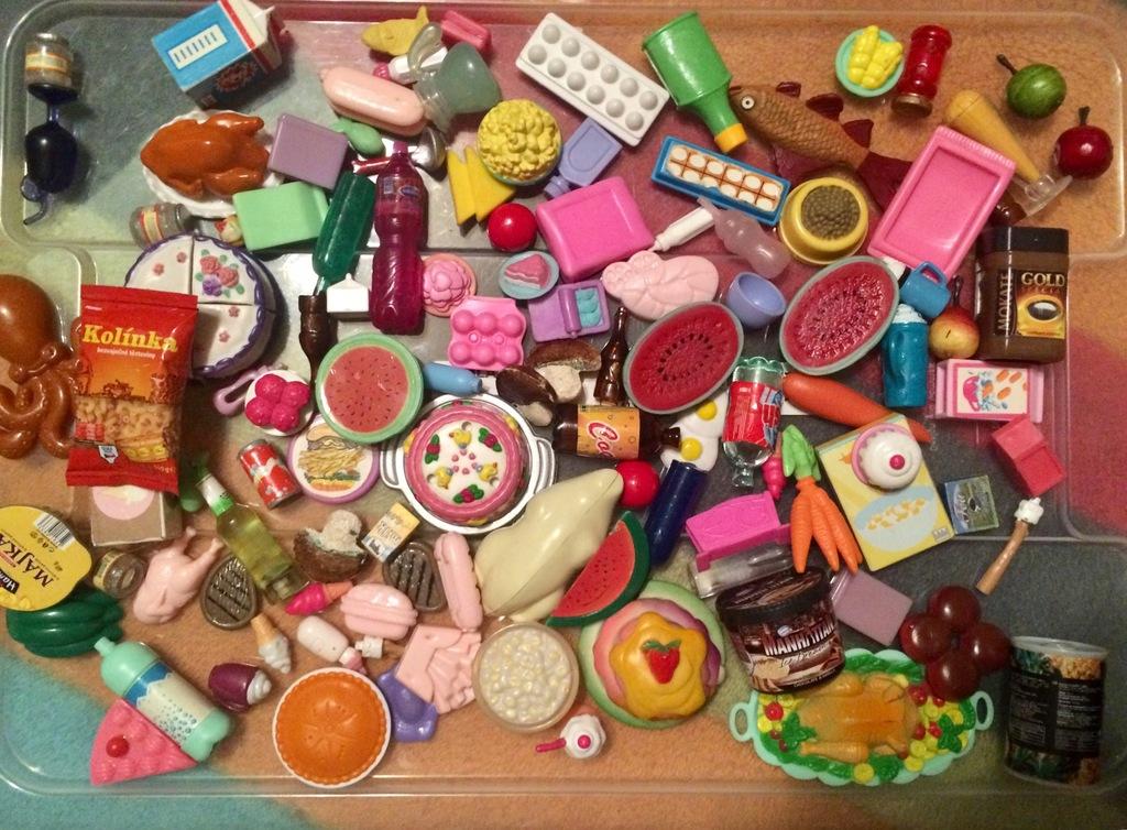 Jedzenie Dla Lalek Barbie Zestaw 8026899898 Oficjalne Archiwum Allegro