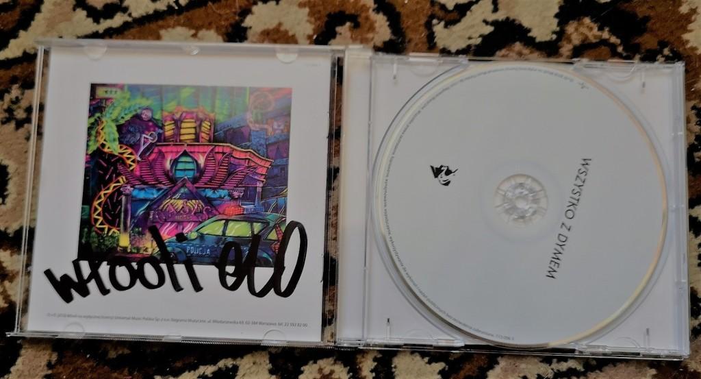 WŁODI - Wszystko z dymem ALBUM CD  z autografem