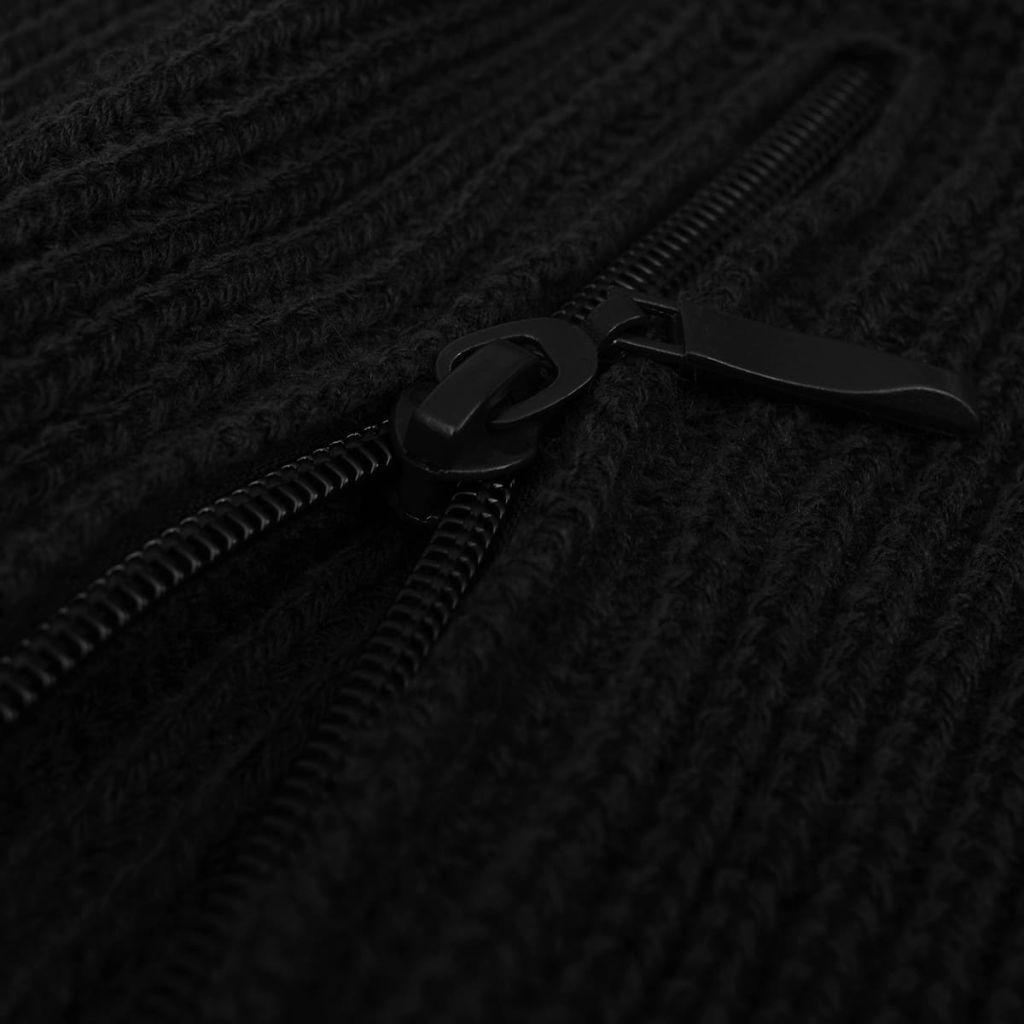 Sweter męski do pracy, czarny, rozmiar XXL