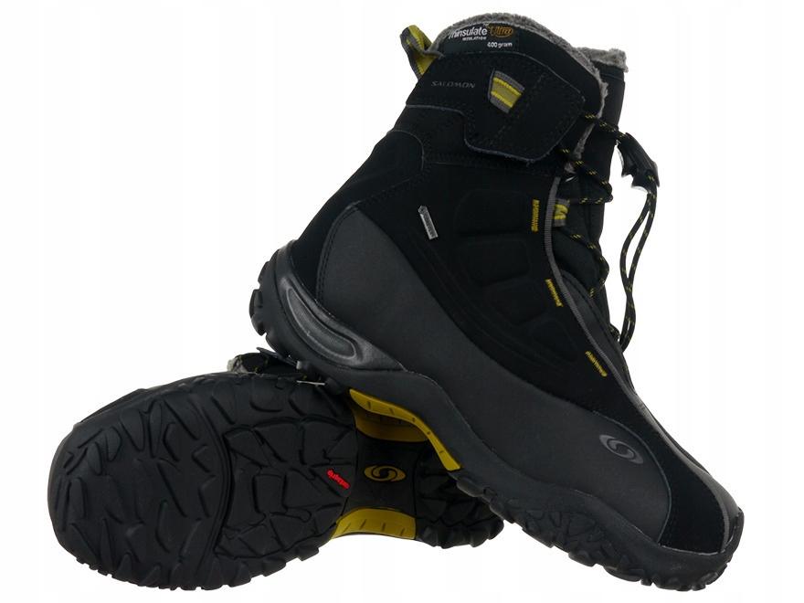 Buty Salomon Gore Tex outdoor trekkingowe zimowe