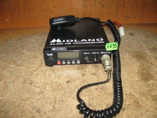 CB RADIO ALAN MIDLAND 78 PLUS - NR S695