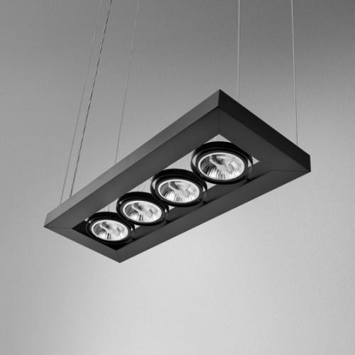 Lampa AQForm CADVA czarna 53014-0000-T8-PH-02