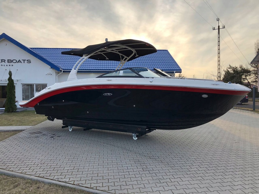 SEA RAY 270 SDX 2021 BOWRIDER TOALETA BEZ CŁA 25%!