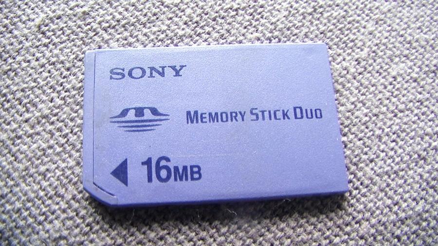 Karta pamięci MSProDuo do PSP ---16MB---