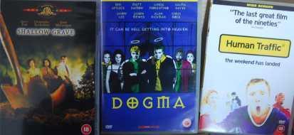 ZESTAW 3 FILMÓW J. ANG: DOGMA, HUMAN TRAFFIC, SHAL