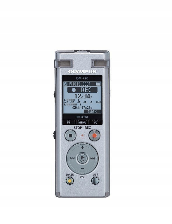 Olympus Digital Voice Recorder DM-720 Stereo/Tresm