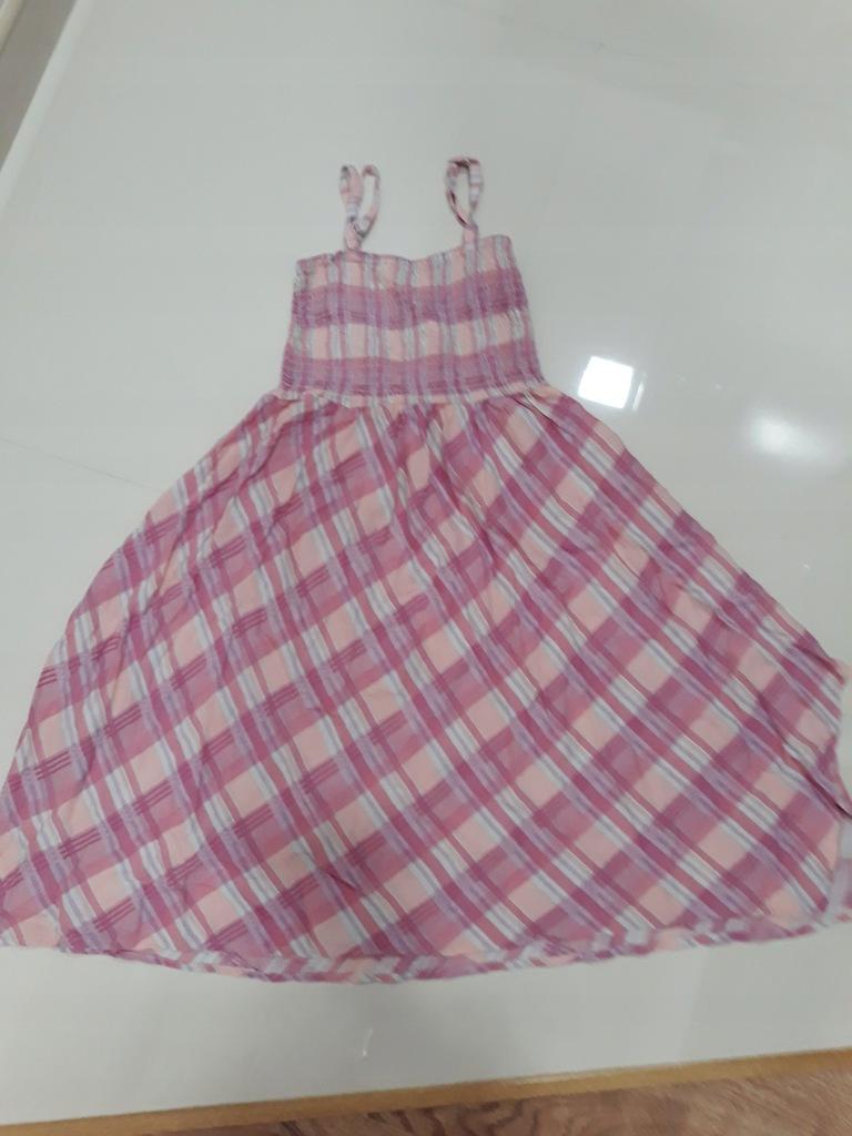 Śliczna sukienka 134cm