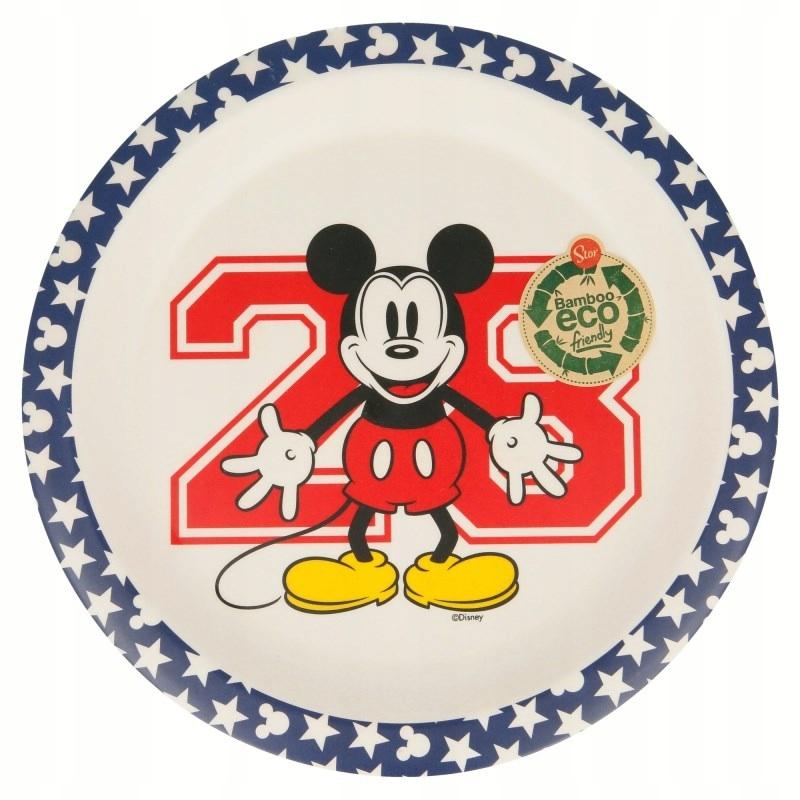 Mickey Mouse - deserowy Talerzyk bambusowy