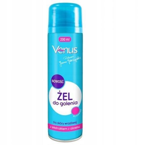Żel do golenia z aloesem VENUS 200 ml x 2 szt