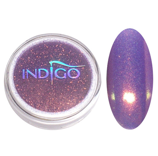 Indigo Pyłek Efekt Syrenki Neon Lila Fiolet 2,5 g