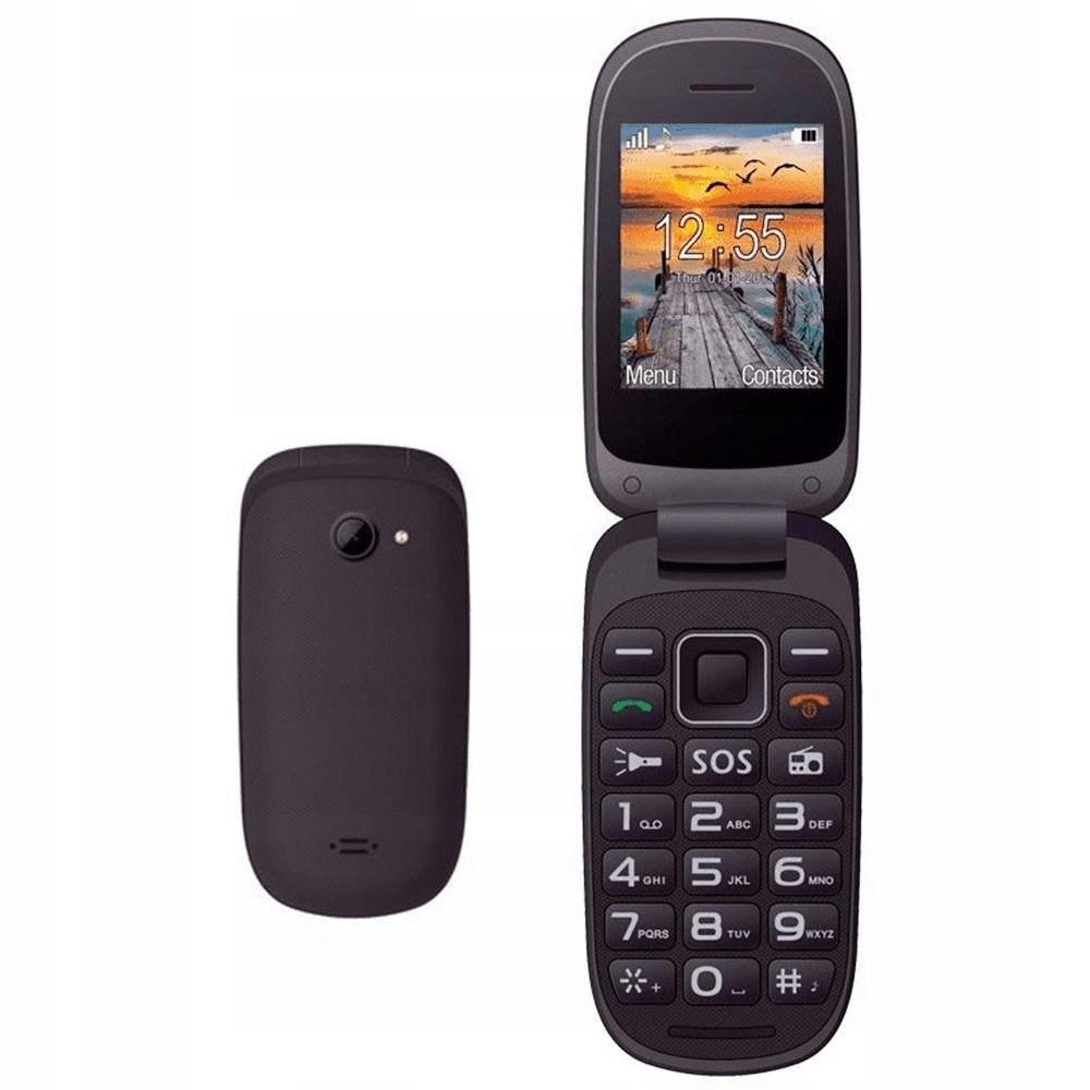 Telefon komórkowy Maxcom MM818 czarny