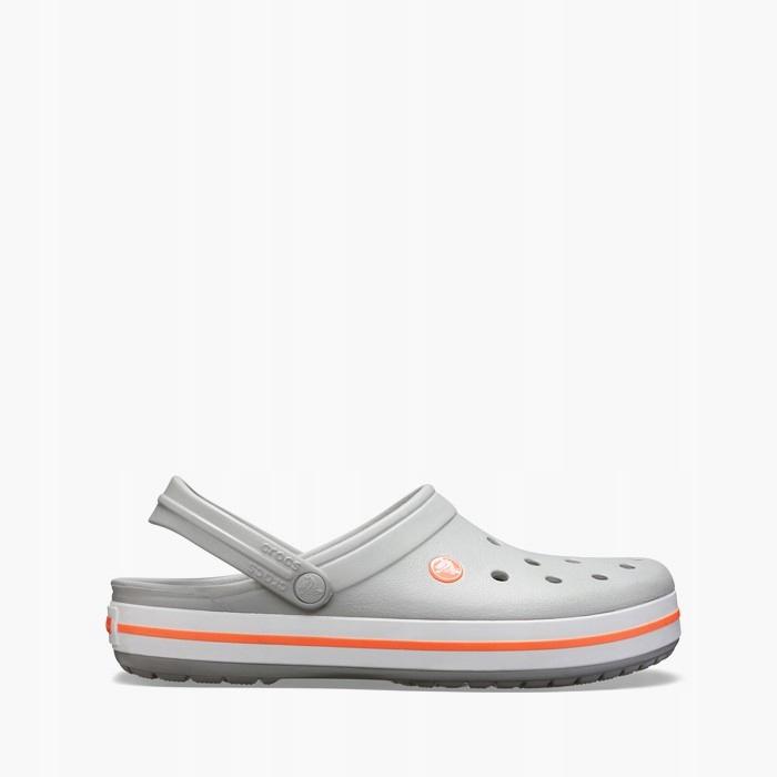 Klapki Crocs Crocband 11016 LIGHT GREY 41,5