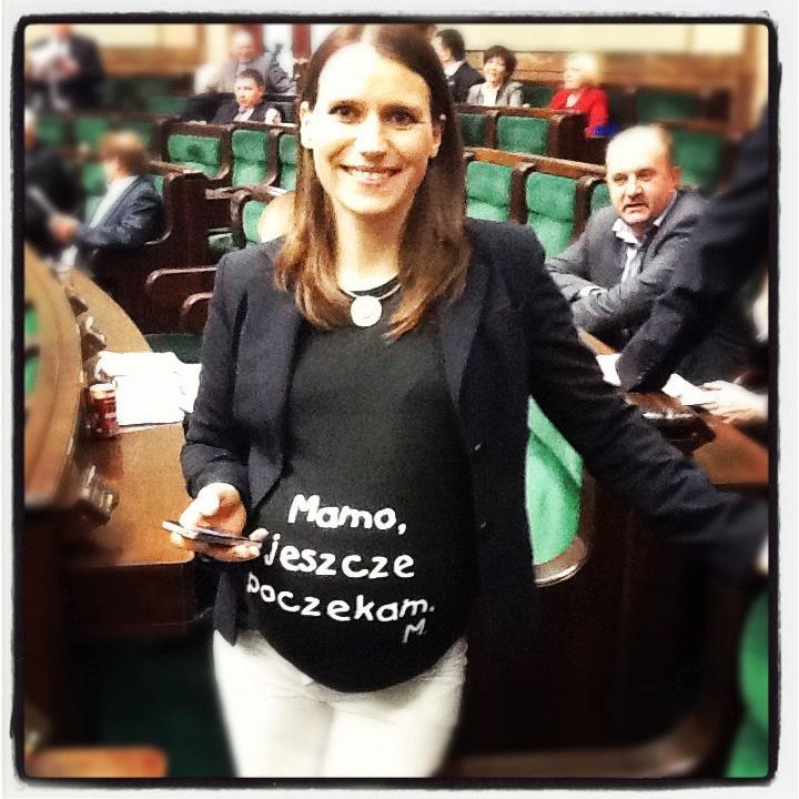 Słynna koszulka od posłanki Agnieszki Pomaskiej