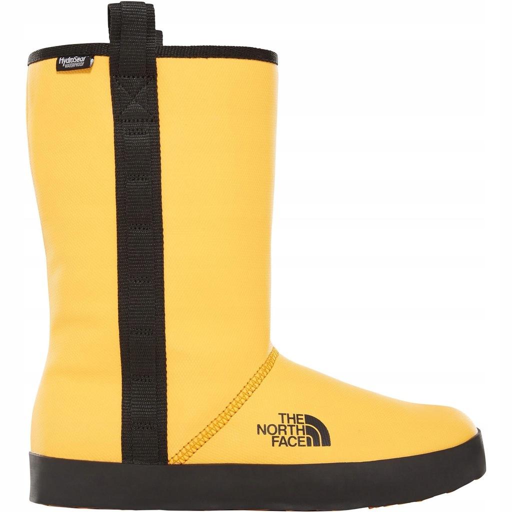 north face buty żółte damskie base camp