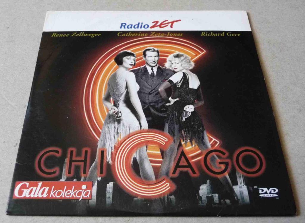 dvd CHICAGO (Zellweger, Gere, Zeta-Jones)