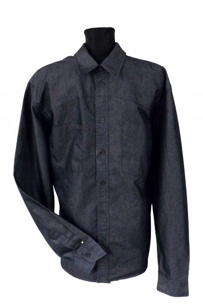 BIG STAR logowana koszula męska jeans XXL J.NOWA