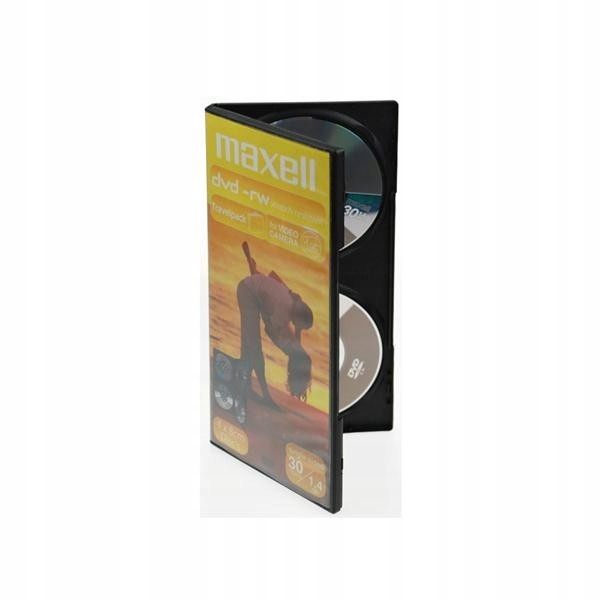 Maxell DVD-RW 8cm 1.4GB Do Kamer 4 SZTUKI