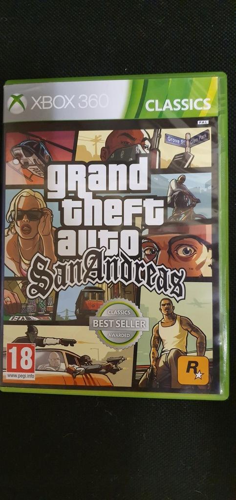 Gta San Andreas Xbox 360 Unikat Sklep Bytom 8544969060 Oficjalne Archiwum Allegro