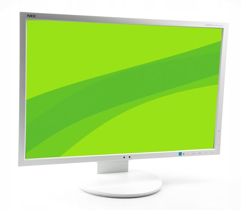 Monitor 24'' NEC EA244WMi niski przebieg do 2000h