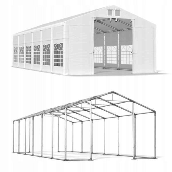DAS COMPANY 5x12m 3-3,9m Namiot ogrodowy wysoki