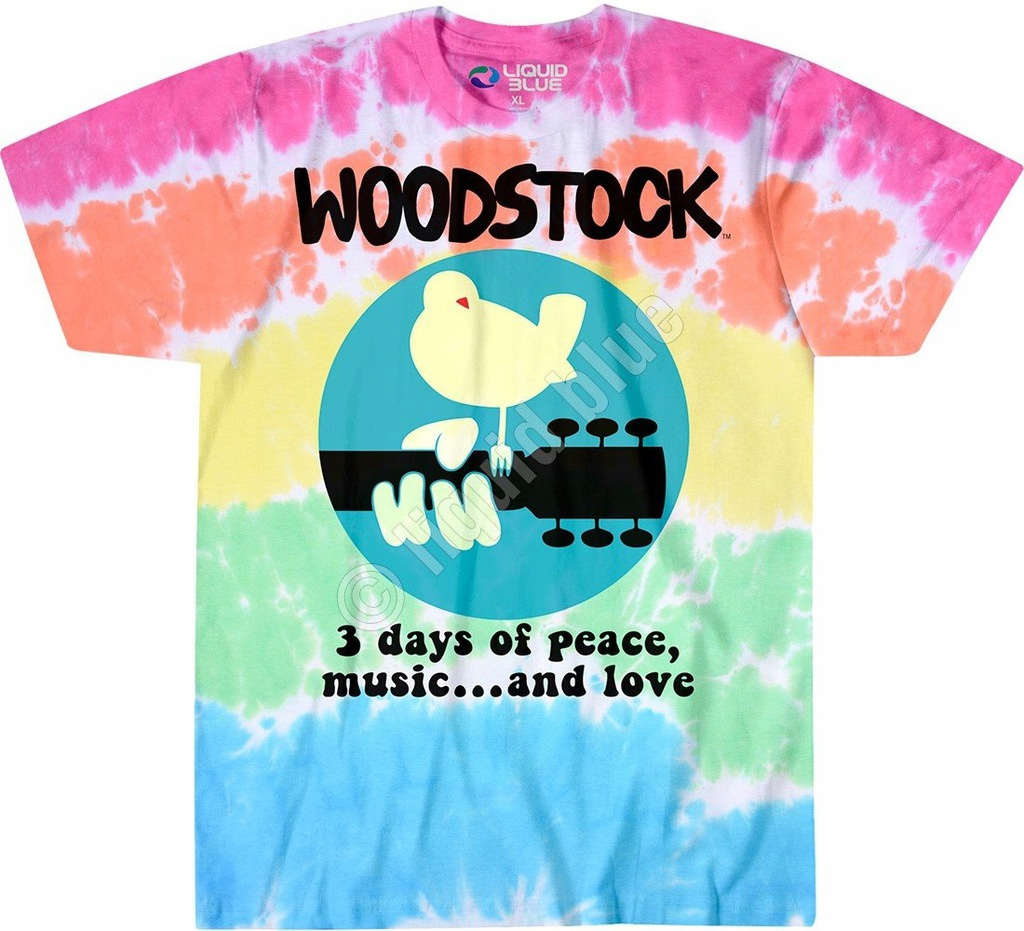 Woodstock Banded - Liquid Blue M