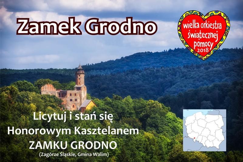 Tytuł Honorowego Kasztelana Zamku Grodno w 2018 r.