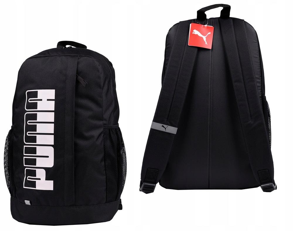 Plecak Szkolny Czarny Puma Plus Backpack II
