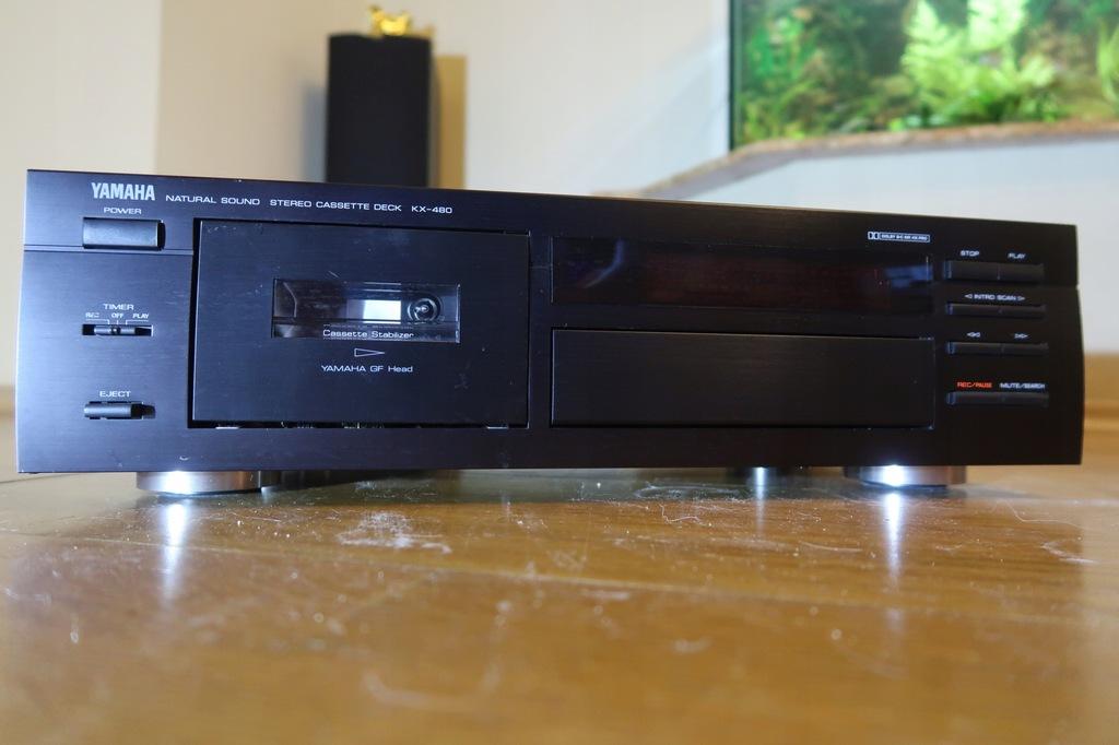 magnetofon YAMAHA KX-480 lub jak kto woli KX-490